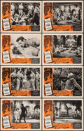 """Movie Posters:Science Fiction, Fire Maidens of Outer Space (Topaz, 1956). Lobby Card Set of 8 (11""""X 14""""). Science Fiction.. ... (Total: 8 Posters)"""