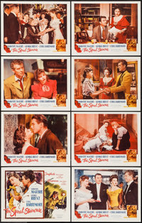 """The Spiral Staircase (Selznick Releasing Organization, R-1956). Lobby Card Set of 8 (11"""" X 14""""). Thriller..."""