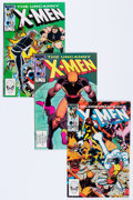 Modern Age (1980-Present):Superhero, X-Men Box Lot (Marvel, 1983-84) Condition: Average NM-....