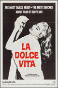 "Movie Posters:Foreign, La Dolce Vita (Astor, 1961). One Sheet (27"" X 41""). Foreign.. ..."