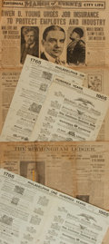 Miscellaneous:Newspaper, [Twentieth Century Newspapers]. The Birmingham Ledger. Vol.10, No. 146. May 11, 1906....