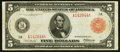 Fr. 832a $5 1914 Red Seal Federal Reserve Note Very Fine