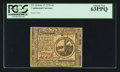 Colonial Notes:Continental Congress Issues, Continental Currency February 17, 1776 $2 PCGS Choice New 63PPQ.....