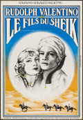"Movie Posters:Adventure, The Son of the Sheik (Capital Films, R-1970s). French Poster (28"" X4.250""). Adventure.. ..."