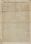 Miscellaneous:Newspaper, [1828 Presidential Election]. Newspaper. The New-HampshireJournal. Vol. II, No. 25. February 25, 1828....
