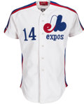 Baseball Collectibles:Uniforms, 1987 Andres Galarraga Game Worn Montreal Expos Uniform. ...
