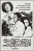 """Movie Posters:Sexploitation, Good Morning...and Goodbye! (Eve Productions, 1967). One Sheet (27""""X 41""""). Sexploitation.. ..."""