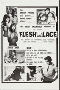 """Movie Posters:Exploitation, Flesh and Lace (Rossmore, 1965). One Sheet (27"""" X 41""""). Exploitation.. ..."""