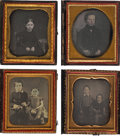 Photography:Daguerreotypes, Sixth Plate Daguerreotypes.... (Total: 10 Items)