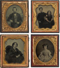 Photography:Ambrotypes, Sixth Plate Ambrotypes.... (Total: 19 Items)
