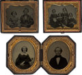 Photography:Ambrotypes, Sixth Plate Ambrotypes.... (Total: 20 Items)