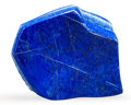 Lapidary Art:Carvings, Lapis Free Form Sculpture. Afghanistan. 5.51 x 5.31 x 1.13inches (14.00 x 13.50 x 2.88 cm). ...