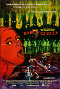 "The Beyond & Other Lot (Grindhouse Releasing, R-1998). One Sheets (2) (27"" X 40"" & 27"" X..."