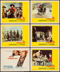 "Movie Posters:Western, The Magnificent Seven (United Artists, 1960). Title Card & Lobby Cards (5) (11"" X 14""). Western.. ... (Total: 6 Items)"