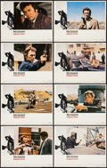 "Movie Posters:Action, Magnum Force (Warner Brothers, 1973). Lobby Card Set of 8 (11"" X14""). Action.. ... (Total: 8 Items)"