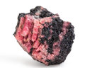 Minerals:Miniature, Rhodonite. Buckwheat Mine, Franklin Mine. Franklin, FranklinMining District. Sussex Co.. New Jersey, USA. 1.87 x 1.59 x1...