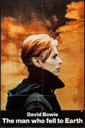 """Movie Posters:Science Fiction, The Man Who Fell to Earth (Cinema 5, 1976). One Sheet (27"""" X 41"""")& Ad Mat (17"""" X 22""""). Science Fiction.. ... (Total: 2 Items)"""
