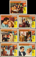 """Movie Posters:Hitchcock, Marnie (Universal, 1964). Lobby Cards (7) (11"""" X 14""""), &Pressbook (12"""" x 18""""). Hitchcock.. ... (Total: 8 Item)"""
