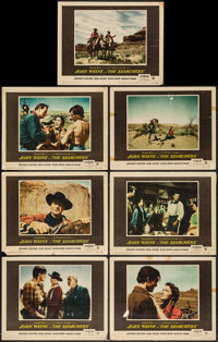 """The Searchers (Warner Brothers, 1956). Lobby Cards (7) (11"""" X 14""""). Western. ... (Total: 7 Items)"""