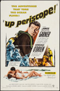 """Movie Posters:War, Up Periscope (Warner Brothers, 1959). One Sheet (27"""" X 41"""") &Lobby Cards (8) (11"""" X 14""""). War.. ... (Total: 9 Items)"""