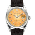 Timepieces:Wristwatch, Rolex Ref. 1500 Vintage Steel Oyster Perpetual Date, circa 1963. ...