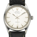 Timepieces:Wristwatch, Rolex Ref. 1500 Oyster Perpetual Air King, circa 1968. ...