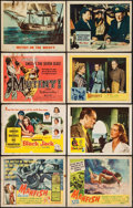 "Movie Posters:Adventure, Manfish & Others Lot (United Artists, 1956). Title Lobby Cards(3), Lobby Cards (45), & Lobby Card Sets of 8 (3 Sets) (11""X... (Total: 72 Item)"