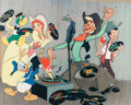 Animation Art:Poster, Melody Time Dye Transfer Print (Walt Disney, 1948)....