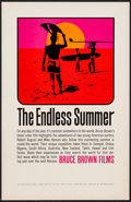 "Movie Posters:Sports, The Endless Summer (Bruce Brown Films, 1966). Special Poster (11"" X 17""). Sports.. ..."