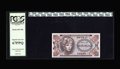 Military Payment Certificates:Series 651, Series 651 50¢ PCGS Superb Gem New 67 PPQ. An essentially flawlesspiece....