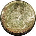 Seated Quarters: , 1877-S 25C MS67 NGC. In the case of the 1877-S, the large mintageof almost 9 million pieces is a virtual guarantee of a hi...