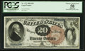 Large Size:Legal Tender Notes, Fr. 131 $20 1880 Legal Tender PCGS Apparent Choice About New 58.....