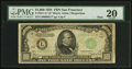 Small Size:Federal Reserve Notes, Fr. 2211-L* $1,000 1934 Mule Federal Reserve Note. PMG Very Fine 20.. ...