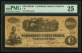 Confederate Notes:1862 Issues, T40 $100 1862 PF-1.. ...