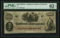 Confederate Notes:1862 Issues, T41 $100 1862 PF-52 Cr. 330.. ...