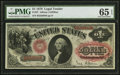 Large Size:Legal Tender Notes, Fr. 27 $1 1878 Legal Tender PMG Gem Uncirculated 65 EPQ.. ...
