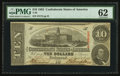 Confederate Notes:1863 Issues, T59 $10 1863 PF-5 Cr. 431.. ...
