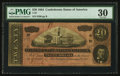 Confederate Notes:1864 Issues, T67 $20 1864 PF-2 Cr. 504A. ...