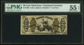 Fractional Currency:Third Issue, Fr. 1364 50¢ Third Issue Justice PMG About Uncirculated 55 EPQ.. ...