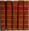 Books:Periodicals, [Periodicals]. The European Magazine and London Review...London: [Various publishers], 1819-1822.... (Total: 5 Items)