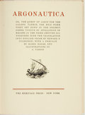Books:Literature Pre-1900, Apollonius of Rhodes. Argonautica: or, The Quest of Jason forthe Golden Fleece. New York: The Heritage Press, [1960...