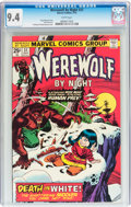 Bronze Age (1970-1979):Horror, Werewolf by Night #31 (Marvel, 1975) CGC NM 9.4 White pages....