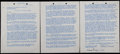 Baseball Collectibles:Others, 1949 Branch Rickey Signed Contract. ...