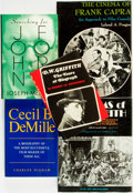 Books:Biography & Memoir, [Cinema & Film] [Biography]. Group of Five about Film Directors. Various publishers and dates.... (Total: 5 Items)