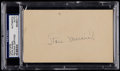 Baseball Collectibles:Others, 1948 Stan Musial Signed Government Postcard....