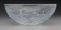 Art Glass:Lalique, R. Lalique Opalescent Glass Graines D'Asperges Bowl. Moldedstamp of the VDA Group to the interior.. Circa 1921....