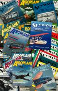 Books:Periodicals, [Aviation] [World War I]. Large Lot of 35 Issues of Skyways.[World War I Aeroplanes Inc], [various dates]....