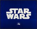"Movie Posters:Science Fiction, Star Wars (20th Century Fox, 1977). Title Lobby Card (11"" X 14"").. ..."
