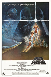 "Star Wars (20th Century Records, 1977). Soundtrack One Sheet (27"" X 41"")"