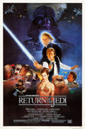 "Movie Posters:Science Fiction, Return of the Jedi (20th Century Fox, 1983). One Sheet (27"" X 41"")Style B.. ..."